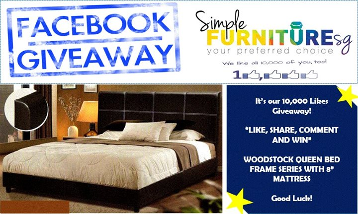 Win a Brand New Queen Divan Bed with 8 Queen Mattress at Simple Furniture Singapore