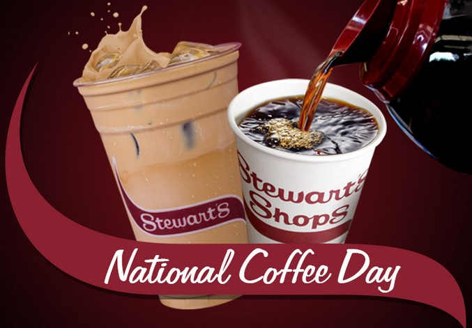 Celebrate National Coffee Day at Stewart's Shops