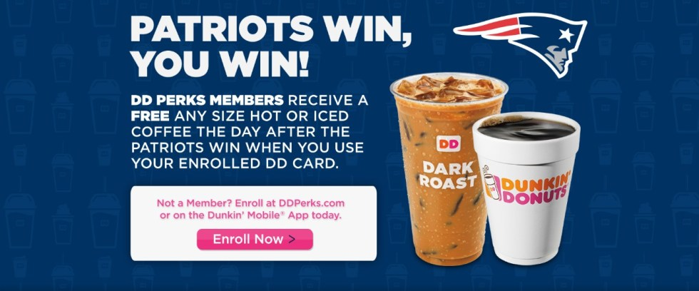 DD Perks Members Get A FREE Any Size Hot or Iced Coffee