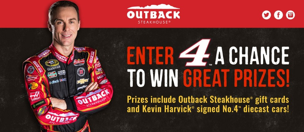 Enter 4 A Chance to Win Great Prizes at Outback Steakhouse USA