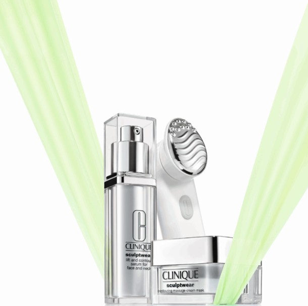 Total Beauty GIVEAWAY Clinique sculptwear serum and cream to lift and contour