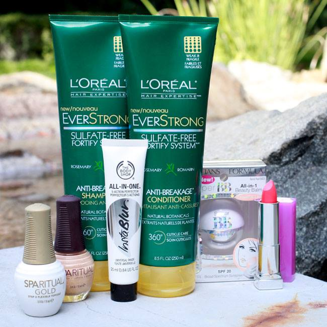 Total Beauty Giveaway Loreal, The Body Shop and more