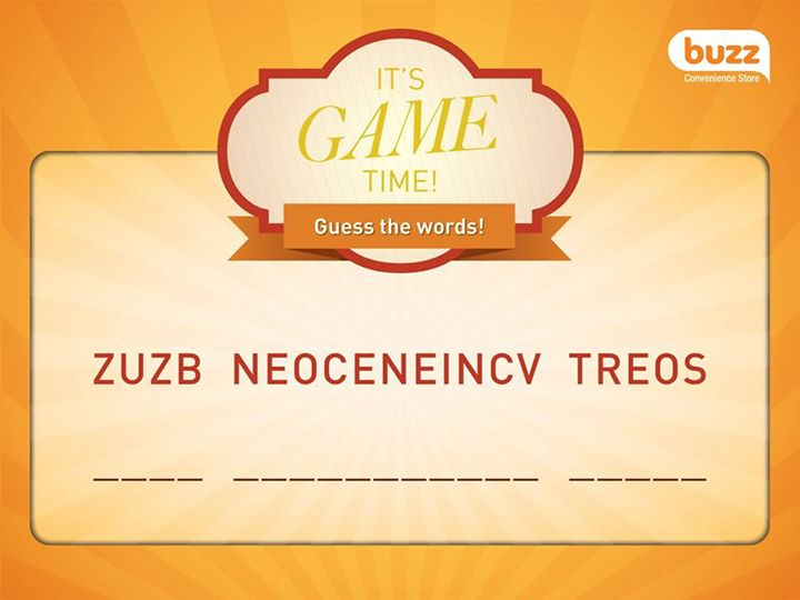 WIN $10 Buzz Convenience Store Voucher at Buzz Singapore