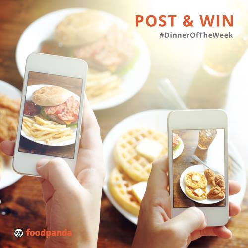 WIN $50 voucher to one lucky winner every week at Foodpanda Singapore