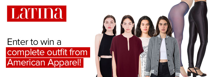 WIN a complete outfit from American Apparel at Latina USA