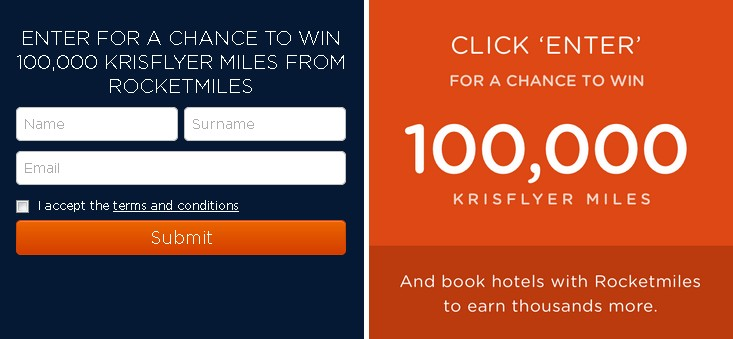Win 100,000 KrisFlyer miles toward your next vacation