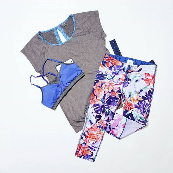 Win A set of Roxy Outdoor Fitness apparels worth $169 at Shape Singapore