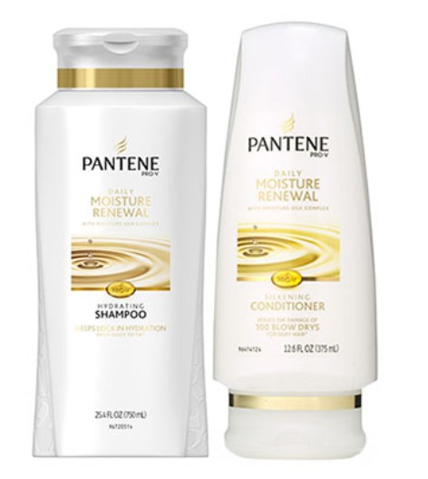 Win Pantene Daily Moisture Renewal Shampoo and Conditioner