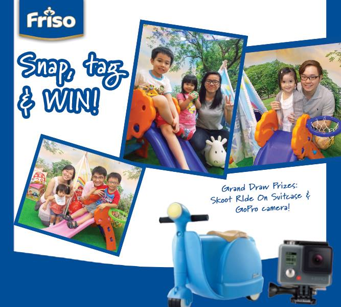 Win great prizes, plus get to have your cherished memories captured at Friso Singapore