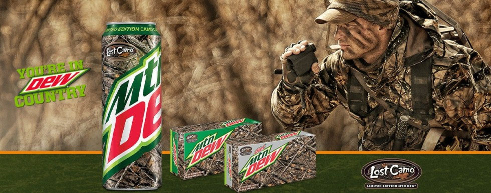 Win one of 1,000 awesome prizes from DEW® and Lost Camo®