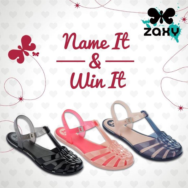 Zaxy 'Name It & Win It' contest at Orchard Central Singapore