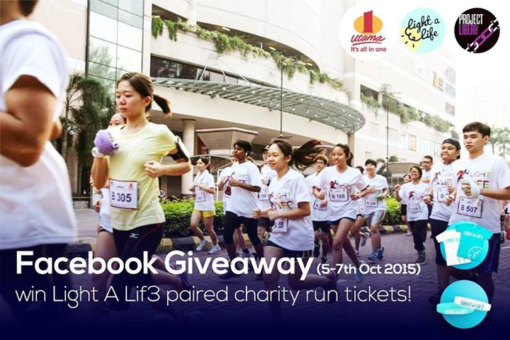 1 Utama Shopping Centre Facebook Giveaway! (5 - 7 October, 2015)