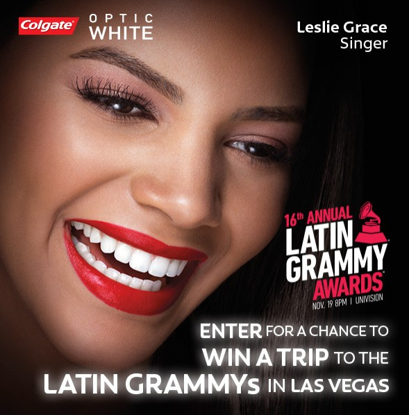 Enter For A Chance to Win a Trip to LATIN GRAMMYs in Las Vegas at Colgate USA