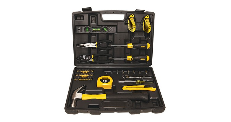 Enter To Win Today's Giveaway of the Day - A Stanley 65-Piece Homeowner's Tool Kit