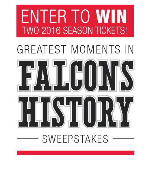 "Equifax Presents ""Greatest Moments in Falcons History Sweepstakes"""