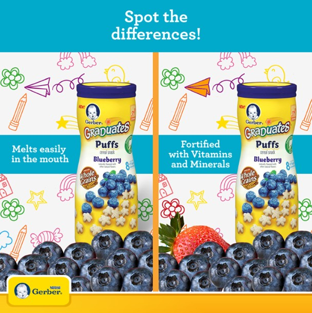 FIVE winners will receive a GERBER goodie worth more than $15 at Nestlé Baby Club Singapore