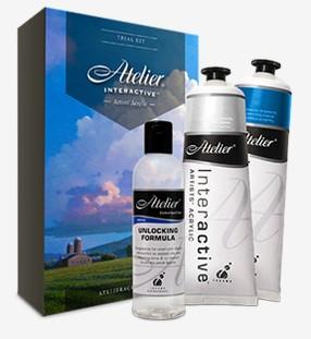 FREE Atelier Acrylic Paint Sample Kit