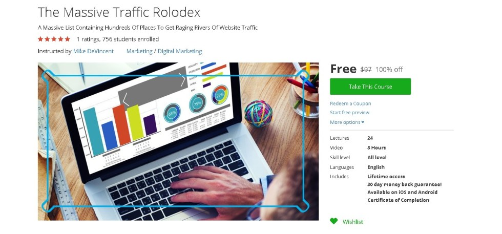 Free Udemy Course on The Massive Traffic Rolodex  (2)
