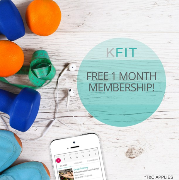 KFIT Malaysia Giveaway A pair of KFit memberships