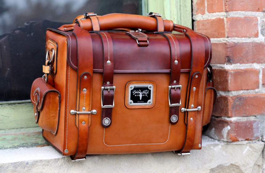 Lewis Expedition Bag Giveaway Courtesy of Leather Built – $1600 Value!