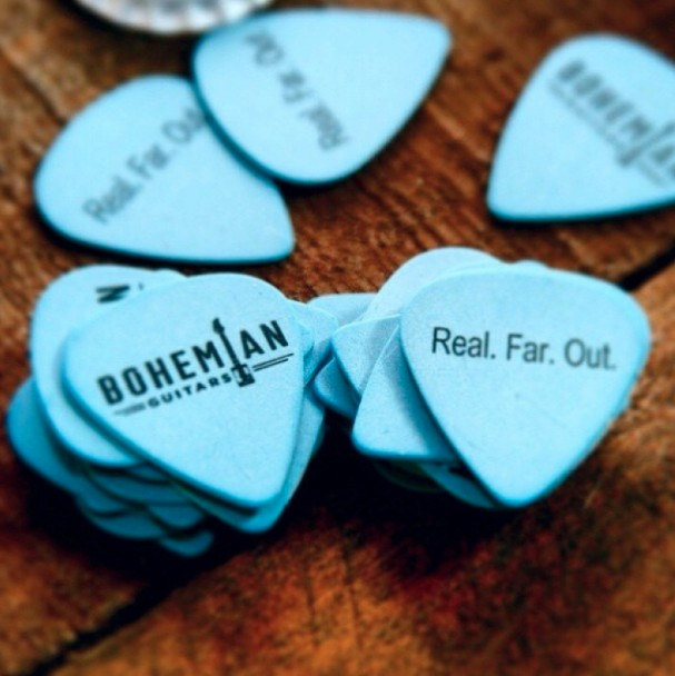 Sign up for FREE picks at Bohemian Guitars USA