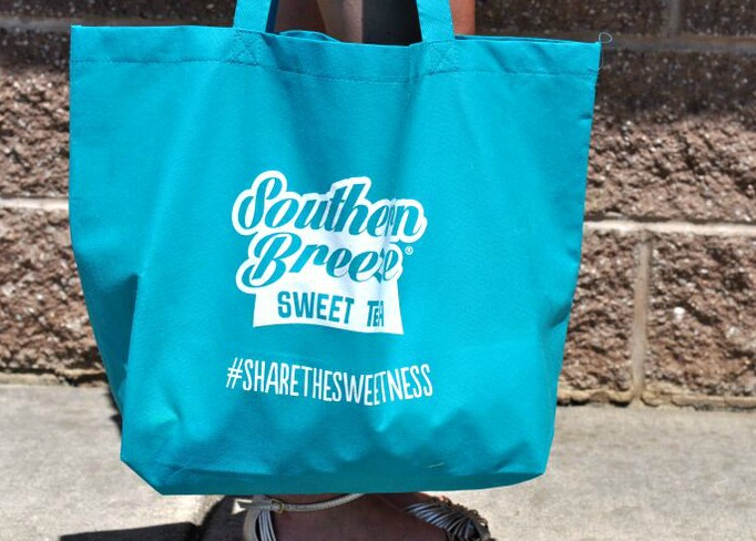 Southern Breeze Sweet Tea tote bags giveaway