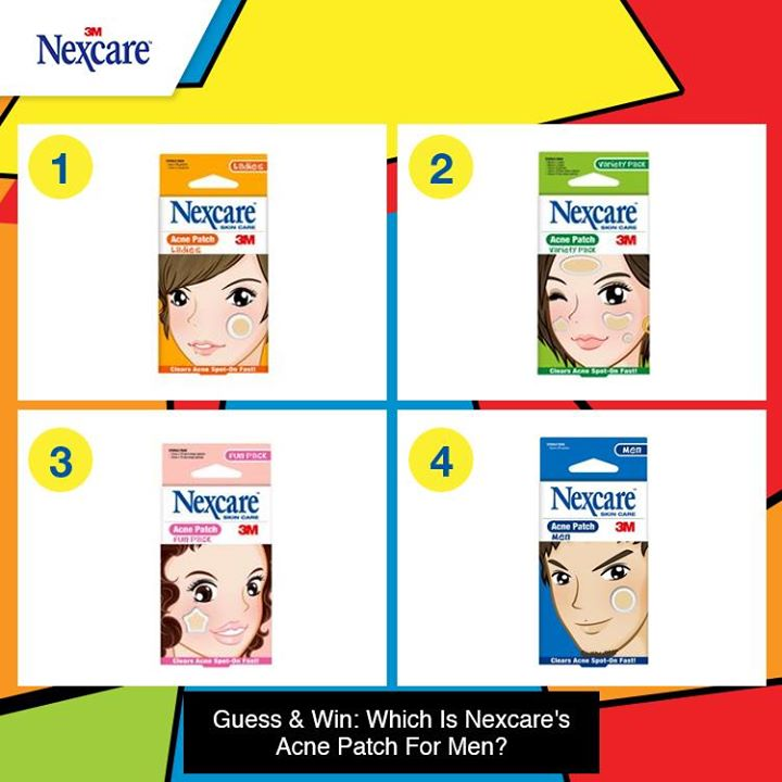 Stand to win a Nexcare Acne Patch Set worth $30!