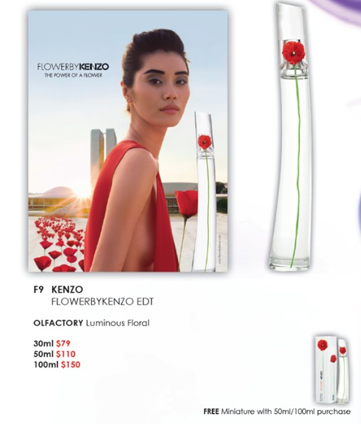WIN FlowerByKenzo by SASA Singapore