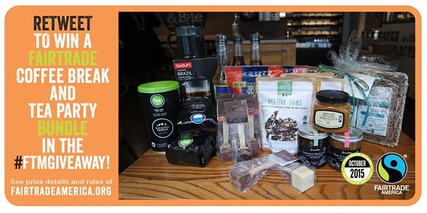 Win a Fairtrade Coffee Break  Tea Party Bundle at Fairtrade America