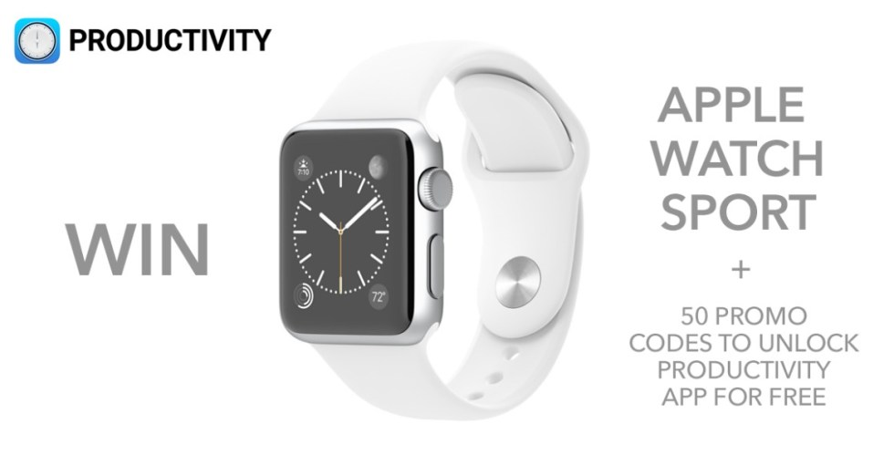 Win an Apple Watch 38mm Sport!