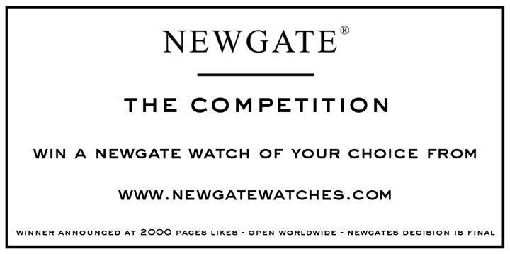 Win your favourite Watch from Newgate Singapore