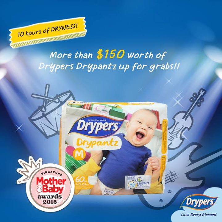 $150 worth of Drypers Drypantz to be won!