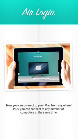 Free Business iOS App Air Login By Avatron Software, Inc.