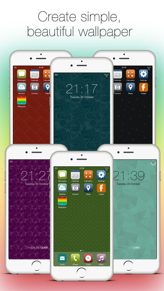 Free Lifestyle iOS App Wallpaper Maker By Danny Connell