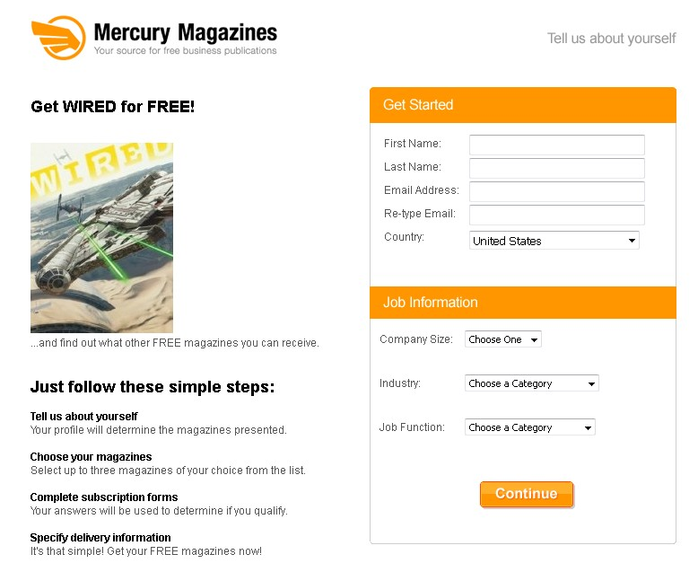 Get WIRED Magazine for FREE at Mercury Magazines