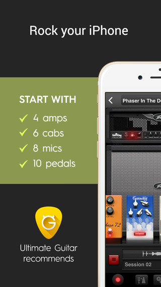AmpKit+ - Guitar amps and effects recording studio with backing tracks, tuner and metronome