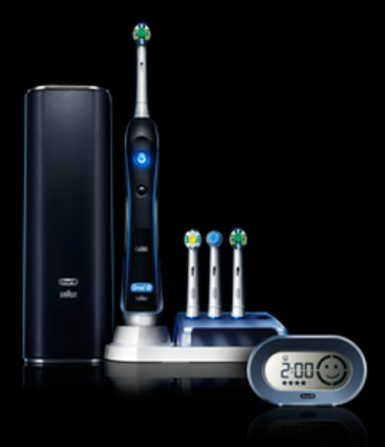 CNET Crave giveaway Oral-B Black 7000 Electric Toothbrush with SmartGuide