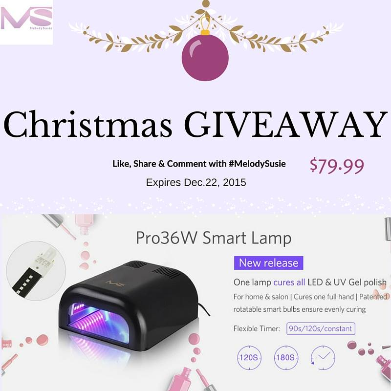 Christmas Giveaway MelodySusie New Arrival & Perfect Holiday Gift