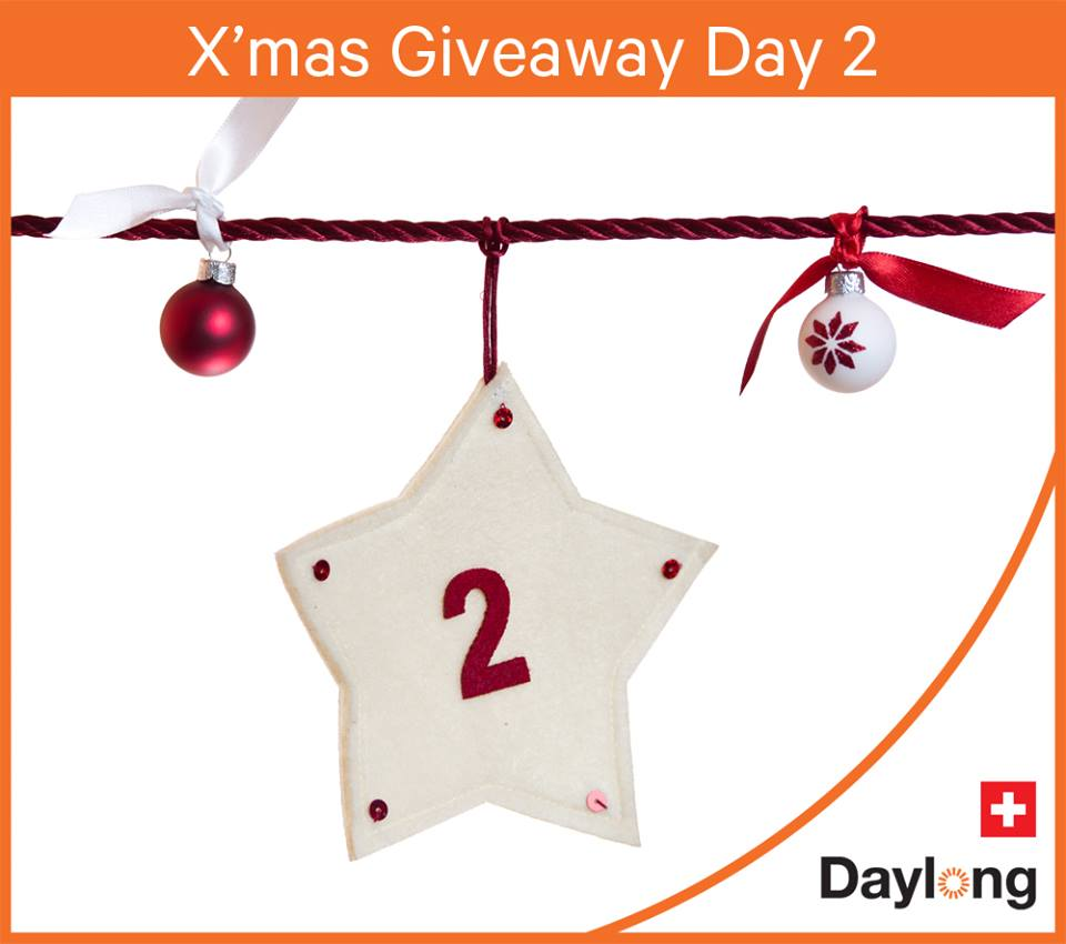 Daylong Singapore X'mas Giveaways Countdown Quiz 2