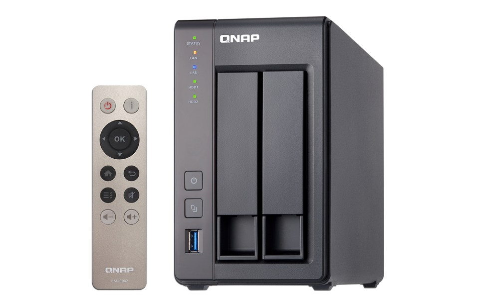 Engadget giveaway Win a TS-251+ two-bay turbo NAS courtesy of QNAP
