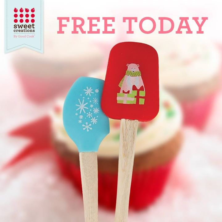 FREE Sweet Creations By Good Cook Mini Spatula Sets