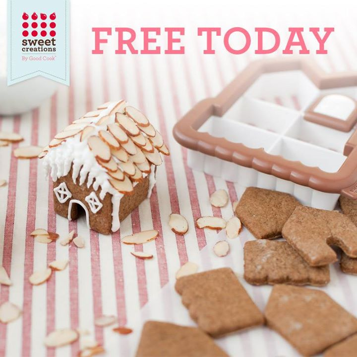 FREE Sweet Creations By Good Gingerbread House 3D Cookie Cutters