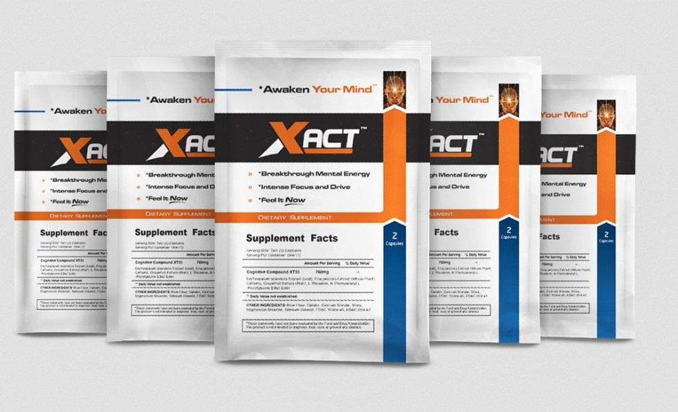 Free 2-day sample pack of the new breakthrough BRAIN supplement, Xact