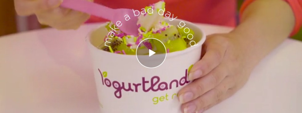 Free 3 oz. birthday treat at Yogurt Land
