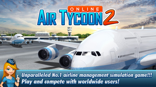 Free iOS Game AirTycoon Online 2 By TRADEGAME Lab Inc.