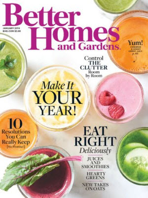 Free subscription to Better Homes & Gardens Magazines