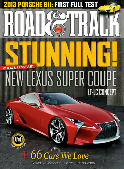 Get Road & Track for FREE at Mercury Magazines