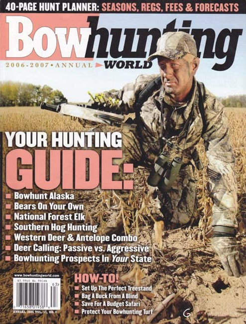 Get your one-year subscription to Bowhunting World Magazine