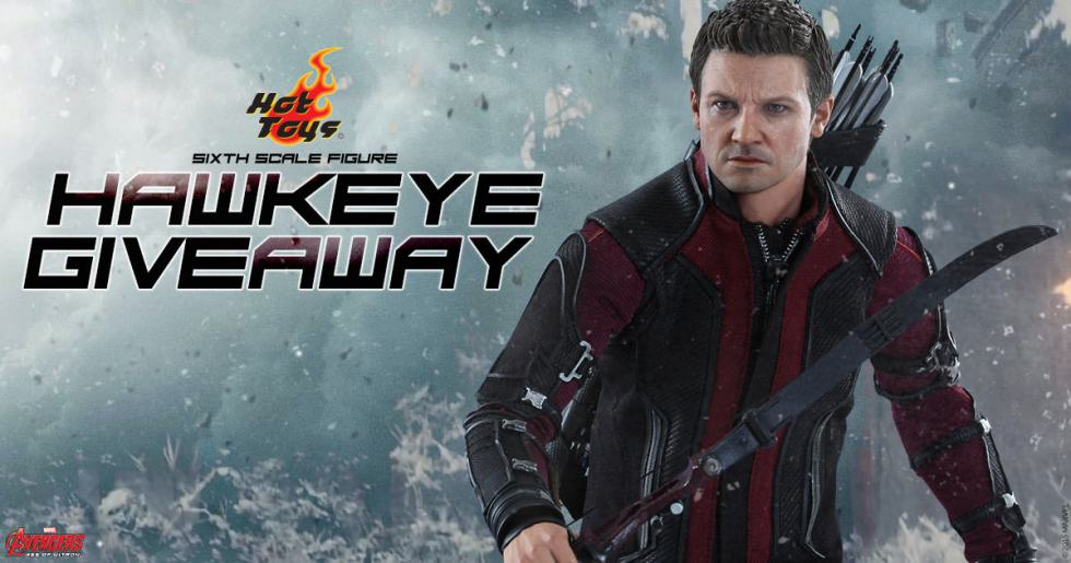 Hawkeye Figure Marvel Giveaway