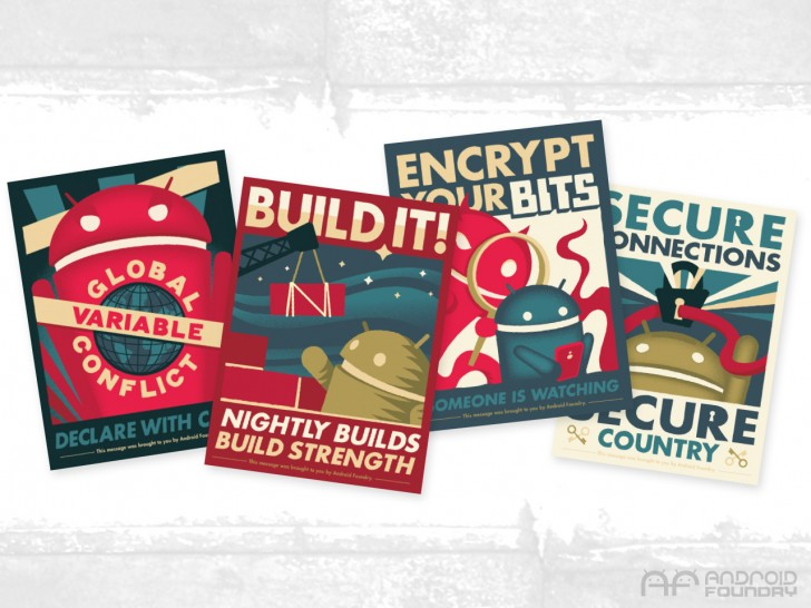 [International Giveaway] Win One Of Five Sets Of Andrew Bell's Newest Android Foundry Propaganda Posters